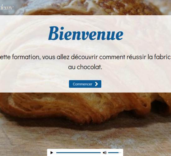 Baguette Academy – Produire des pains au chocolat